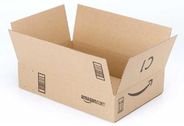 Amazonの段ボール
